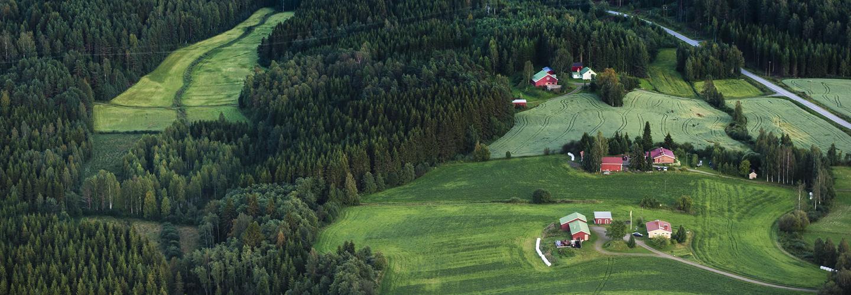 Ilmakuva maatilasta