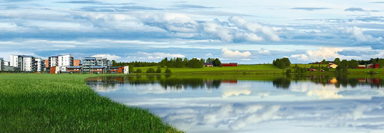 Kesäinen maisema, Maveplan, maaseutu